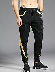 cheap -Men's Active Sweatpants Pants - Color Block