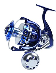 cheap -Fishing Reel Trolling Reel Spinning Reel 4.7:1 Gear Ratio+13 Ball Bearings Hand Orientation Exchangable Sea Fishing Spinning Jigging