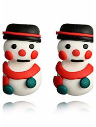 Недорогие -Жен. Серьги-слезки Классический Elegant Милая Китай Прочее Бижутерия Белый Рождество Повседневные Бижутерия