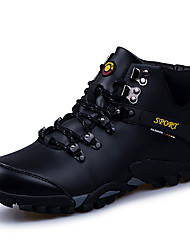 cheap -Men's Shoes Real Leather Winter Fall Cowboy / Western Boots Fashion Boots Athletic Shoes Hiking Shoes Booties/Ankle Boots for Athletic