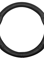 abordables -Protège Volant Cuir 38cm Noir For Toyota Reiz / Mark X / Prado Toutes les Années