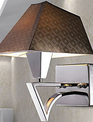 cheap -Wall Light Downlight Wall Sconces 40W 220V E27 Modern/Contemporary Stainless Steel