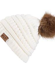 economico -Berretto di lana Sci Caps Skull Unisex Caldo Occhiali da sci Sci Snowboard Tavola da snowboard Acrilico Corsa Attività all'aperto