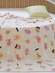 cheap -Super Soft,Handmade Striped Polyester Blankets
