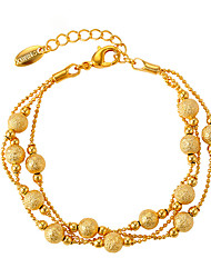 cheap -Women's Gold Plated Chain Bracelet - Simple Sexy Gold Bracelet For Wedding Gift