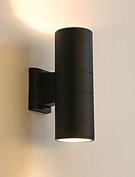 Недорогие -Модерн Настенные светильники Алюминий настенный светильник IP65 110-120Вольт / 220-240Вольт 60W
