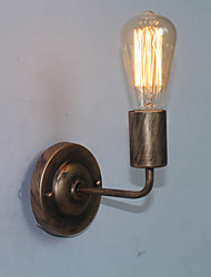 billige -omgivende lys væg sconces e26 / e27 rustik / lodge retro / vintage til