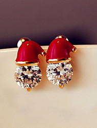 cheap -Women's Stud Earrings Metallic Alloy Jewelry For Daily Christmas