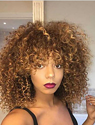 Synthetic Capless Wigs