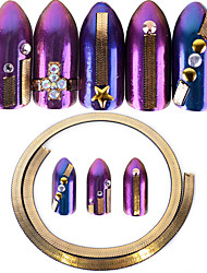 cheap -1 Glitter Ornaments Tapes Nail Jewelry Metallic Stylish Shiny Fashion Lovely High Quality Daily