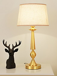 cheap -Ambient Light Table Lamp AC Powered 220V Golden