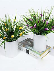 Недорогие -1 Филиал Пластик Калла Букеты на стол Искусственные Цветы