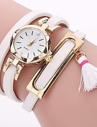 Xu™ Dámské Hodinky na běžné nošení Módní hodinky Náramkové hodinky čínština Křemenný PU Kapela Na běžné nošení Cikánské Černá Bílá Modrá