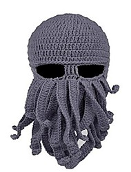 cheap -Ski Hat Ski Balaclava Hat Ski Skull Cap Beanie Men's Women's Thermal / Warm Comfortable Snowboard Sweater Hollow Cycling Ski / Snowboard