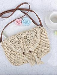 cheap -Women Bags leatherette Crossbody Bag Zipper for Casual All Season Beige Coffee