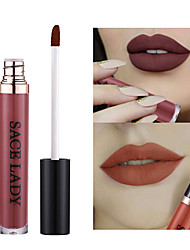 cheap -Makeup Tools Liquid Lip Gloss 1 pcs Dry / Matte / Combination Waterproof / Coloured gloss / Moisture Organic / Shimmer / Multi Color Makeup Cosmetic Daily Grooming Supplies