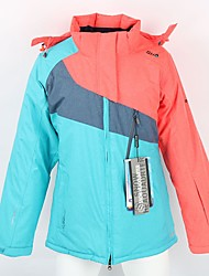 cheap -Unisex Ski Jacket Warm, Waterproof, Windproof Skiing / Ski / Snowboard Fiber, Polyster Down Jacket Ski Wear