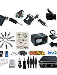 cheap -Professional Tattoo Kit 2 rotary machine liner & shader 2 Black Tattoo Machine Inks Not Included