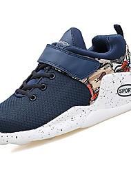 Homme Chaussures Gomme Printemps Automne Confort Chaussures d'Athlétisme Basketball Bottine/Demi Botte Ruban Pour Blanc Noir Bleu