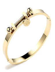 cheap -Women's Bracelet Bangles - Korean, Fashion Bracelet Gold / Rose Gold For Gift Daily Date