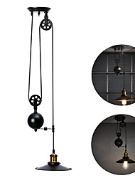 YouOKLight AC85-265V E26/E27 Vintage Pulley Lift Pendant Hanging Lamp for Dining Room Bar Industrial Lighting 1PCS Without BULB