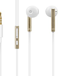 X30 In Ear Wired Headphones Dynamic Plastic Sport & Fitness Earphone Noise-isolating with Microphone Headset