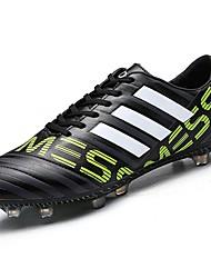 Masculino sapatos Borracha Primavera Outono Conforto Tênis Futebol para Preto Prata Laranja Azul