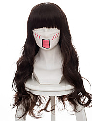 abordables -Pelucas de Cosplay Código: Realize Cardia Beckford Animé Pelucas de Cosplay 75 CM Fibra resistente al calor Mujer
