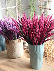 Недорогие -10 Филиал Пенопласт Недвижимость сенсорный Светло-голубой Букеты на стол Искусственные Цветы