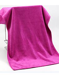 Недорогие -Свежий стиль Полотенца для мытья,Однотонный Высшее качество 100% полиэстер Полотенце