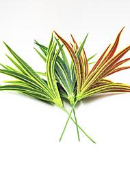 25cm 2 Pcs 23 leave/branch Var marginatum Home Decoration Artificial Grass