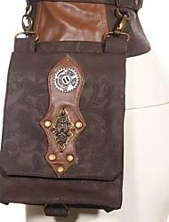 cheap -Women's Bags Polyester Waist/Fanny Bag Zipper for Casual All Seasons Dark Grey