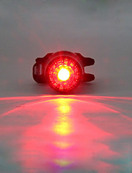 Bike Lights LED LED Cycling Gleam Lithium 180 Lumens Built-in Li-Battery Powered Red Camping/Hiking/Caving Cycling/Bike