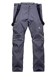 cheap -Men's Ski / Snow Pants Warm, Waterproof, Windproof Ski / Snowboard / Mountaineering Chinlon Snow Bib Pants Ski Wear