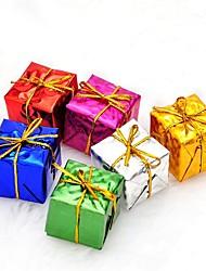 abordables -Décoration Cadeaux de noël Articles pour Célébrer Noël Décorations d'arbre de noël Jouets Formé Carrée Vacances père Noël Enfant Adulte 6
