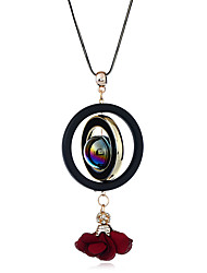 cheap -Women's Geometric Formal Casual Sweet Fashion Korean Pendant Necklace Resin Pendant Necklace , Party Valentine