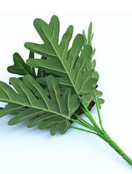 30cm 2 Pcs 9 head/branch Taro leaf Home Decoration Artificial Grass