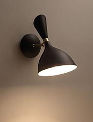 baratos -Moderno / Contemporâneo Luminárias de parede Interior / Garagem Metal Luz de parede 110-120V / 220-240V 40W