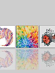 Lærredstryk Moderne Klassisk Rustikt,Tre Paneler Kanvas Print Vægdekor For Hjem Dekoration