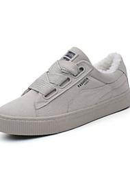 economico -Da donna Scarpe PU (Poliuretano) Inverno Comoda Sneakers Per Casual Nero Beige Rosa