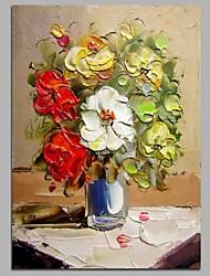 economico -decorazione della parete di fiori dipinti a mano dipinti ad olio contemporanei opere d'arte moderna arte della parete