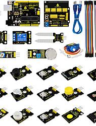 kit de iniciação de programação gráfica do ardublock do keyestudio para arduino starter compatibleunor3 / dup0nt lines