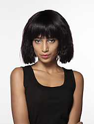 cheap -Human Hair Capless Wigs Human Hair Water Wave Medium Machine Made Wig Women's