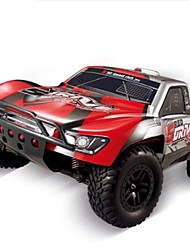 cheap -RC Car HUANQI 727 2.4G Truck Off Road Car High Speed 4WD Drift Car Buggy SUV Brush Electric * KM/H Remote Control Rechargeable Electric
