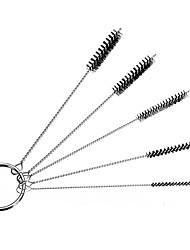 economico -Spazzola di pulizia airbruh in nylon 5 in 1 per pistola a spruzzo per tatuaggio