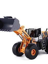 cheap -Construction Truck Set Wheel Loader Wheel Tractor-Scraper Toy Truck Construction Vehicle Toy Car Educational Toy 1:50 Classic Pivoting