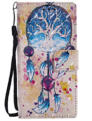cheap -Case For Sony Xperia Z5 / Sony Xperia Z3 / Sony Xperia XA Ultra Xperia XZ / Xperia XA1 Wallet / Card Holder / with Stand Full Body Cases Dream Catcher Hard PU Leather for Sony Xperia Z3 / Sony Xperia