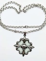 Недорогие -Муж. / Жен. Ожерелья с подвесками  -  Винтаж, Светящийся Серебряный Ожерелье 1 Назначение Официальные, Карнавал