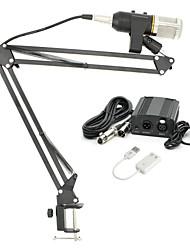 preiswerte -KEBTYVOR MK-F200TL Mit Kabel Mikrofon sets Kondensatormikrofon Anklippbar Für PC, Notebooks und Laptops