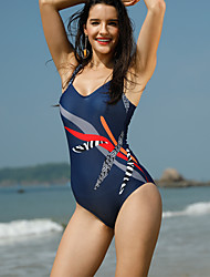 cheap -Women's One-piece - Solid, Print